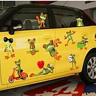 Doudouwo ® Dieren Cartoon Style Leuke kikker muurstickers