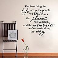 woorden citeert muurstickers het beste wat kunst home decoratie muur sticker 60 x 60cm