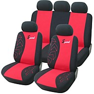 9 PCS Sett Car Seat Covers Universal Fit Auto Tilbehør