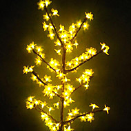 Classic Decorating Yellow Peach Plastic Outdoor Lights