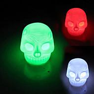 Coway skallen färgglada ledde nattlampa lampa halloween dekorationer