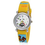 Γυναικεία Μοδάτο Ρολόι Ρολόι Καρπού Καθημερινό Ρολόι Χαλαζίας σιλικόνη Μπάντα Κίτρινο Κίτρινο
