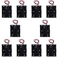 hotsale CM01 senza cappuccio diy box professionale 3 x supporto della batteria aa caso di piombo / linea (10 pz)
