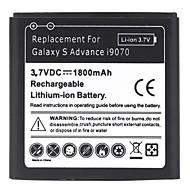 1800mAh lithium-ion batterij voor de Samsung Galaxy S Advance i9070