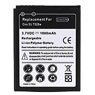 1800mah batterie lithium-ion rechargeable pour t528w htc