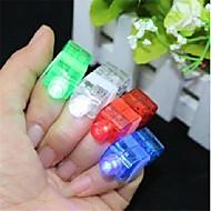다채로운 LED 레이저 손가락 등 8 개 (색상 랜덤)