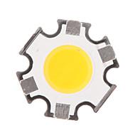 5W COB 450-500LM 3000K Warm White Light LED Chip (15-17V,300uA)