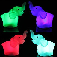 3pcs Stand Like A Nightlight Dumbo Villain Light Colorful LED  Night Light