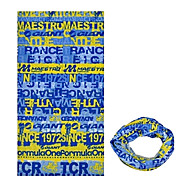 pescoço polainas / Chapéus (Amarelo / Azul) - para Acampar e Caminhar / Alpinismo / Ciclismo -Resistente Raios Ultravioleta /