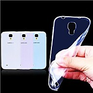 For Samsung Galaxy etui Ultratyndt Transparent Etui Bagcover Etui Helfarve TPU for Samsung S4