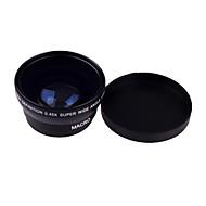 0,45 x 49mm širokoúhlý makro objektiv pro Sony Nikon Canon Fujifilm Samsung Pentax Panasonic Leica Olympus Sigma 49mm závit objektivu