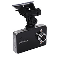 "Car DVR Camcorder Camera K6000 1080P Full HD Night Vision 140 Angle Lens with 2.7"" TFT LCD Screen G-Sensor"