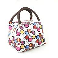 isolamento portatile scatole pacchetto picnic pranzo di oxford borse di stoffa di colore a caso