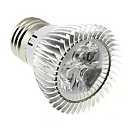 3W E26/E27 LED Spotlight MR16 3 High Power LED 220 lm Cool White AC 85-265 V