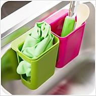 diseño suctor bastidores de plástico multifuncionales&titulares (x1pcs color al azar)