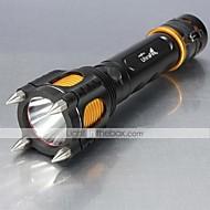 Lanternas LED Modo 1000 Lumens Foco Ajustável / Recarregável / Resistente ao Impacto / Superfície Antiderrapante / Bisel de Golpe XM-L2 T6