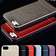 VORMOR® Metal Aluminum Brushed & PC Hard Back Case for iPhone 4/4S (Assorted Colors)