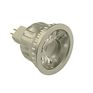 6W GU5.3(MR16) LED Spotlight MR16 1 COB 500-550 lm Warm White / Cool White Dimmable DC 12 V