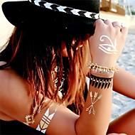 Naklejki z tatuażem Seria biżuterii Wzór Damskie Girl Dla nastolatków Tattoo Flash Tatuaże tymczasowe