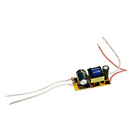 0.3A 4-7W DC 12-22V to AC 85-265V Internal Constant Current Power Supply Driver for LED Spot Lights