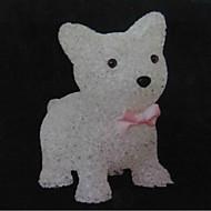 Hunden eva krystall farge endring Nattlys