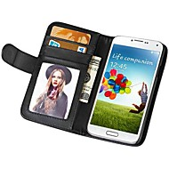 Soft Touch Wallet PU Leather Case for Samsung Galaxy S4 I9500
