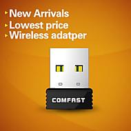 comfast® 150Mbps cf-wu712p super mini usb scheda di rete wireless con il pulsante WPS