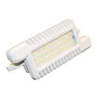 H+LUX™ R7S 10 W 24 SMD 5630 900 LM Natural White Recessed Retrofit Flood Lights AC 220-240 V