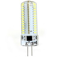 G4 5W 104 SMD 3014 600 LM Warm White / Cool White T LED Bi-pin Lights / LED Corn Lights AC 220-240 V