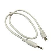 detalles acerca de estéreo de 3,5 mm a cable mini usb para audio altavoz portátil