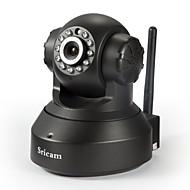 pan ir 720p megapixel p2p h.264 tilt ip wireless sricam® interior câmera ap002
