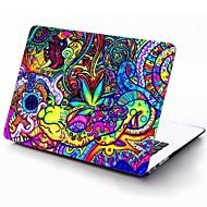 patrón de colores de cuerpo completo estuche protector de plástico para el de 11 pulgadas / 13 pulgadas El nuevo iPad