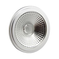 GU10 15 W 1 COB 1500LM LM Warm White AR Dimmable Spot Lights AC 110-130 V