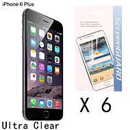 [6-Pack] High Quality Anti-fingerprint Screen Protector for iPhone 6S Plus/6 Plus