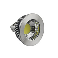 GU5.3(MR16) 5W 1 COB 400-450LM LM Warm White / Cool White / Natural White Dimmable LED Spotlight DC 12 V