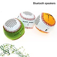 Music Angel MP3 Function Mini Wireless Stereo Bluetooth Speaker with MIC TF AUX Port for Phone/Laptop/Tablet PC