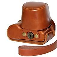 dengpin® Leder abnehmbare Schutz Kamera Tasche Abdeckung mit Schultergurt für Panasonic Lumix DMC-GX7 GX7