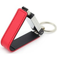 16GB PU Leather Mental USB2.0 Flash Drive