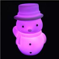 Coway jul snögubbe ledde nattlampa nödvändig julklapp färgrik