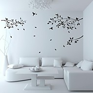 muurstickers muur stickers, stamboom vogel pvc muurstickers