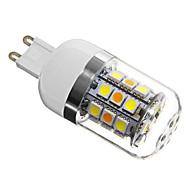 E14 / G9 / GU10 / E26/E27 4W 31 SMD 5050 280 LM Natural White T LED Corn Lights AC 220-240 V
