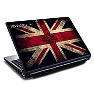 """Großbritannien-Flaggen Union Jack Muster Laptop Schutzfolie für 15,6 """""""
