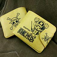 Torba / Portfele Zainspirowany przez One Piece Tony Tony Chopper Anime Akcesoria do Cosplay Portfel Žlutý PU Leather (skóra kompozytowa)