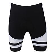 Uomo PaladinSport nero Stripes primavera e l'estate di stile lycra e poliestere Pantaloncini da ciclista