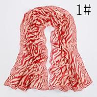 damesmode zebra patroon sjaal
