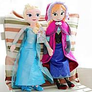congelés elsa princesse éclat et annastuffed peluche douce poupée animée modèle figurines jouets (2pcs 21 pouces)