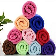 monitoiminen microfiber suorakaiteen nopeus kuiva pyyhe (random väri)