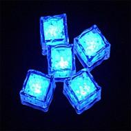 LED Light Touch Shiny Blue Ice Cubes (12PCS)