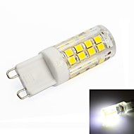 G9 3.5 W 51 SMD 2835 350lm LM Natural White T Corn Bulbs AC 220-240 V