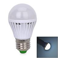Ampoules Globe Audio-activé Blanc Froid E26/E27 3 W 33 SMD 3528 170~180 LM 6000 K V